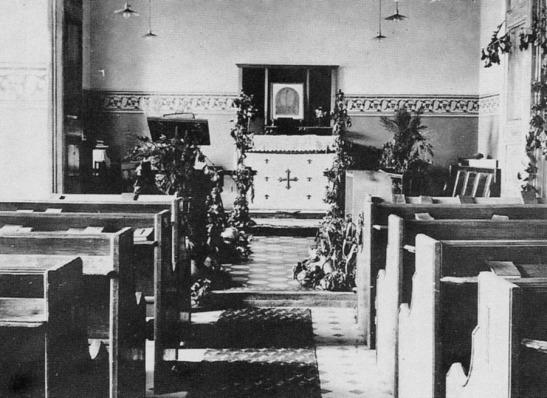 Interior of the Anglican Church, Hughesovka